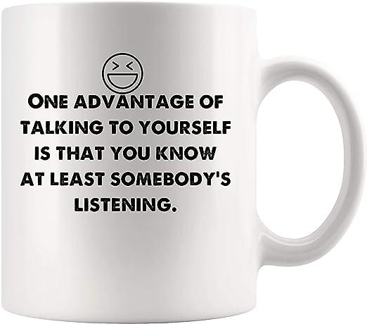 Amazon Com Advantage Talking Yourself Know Least Listening Funny