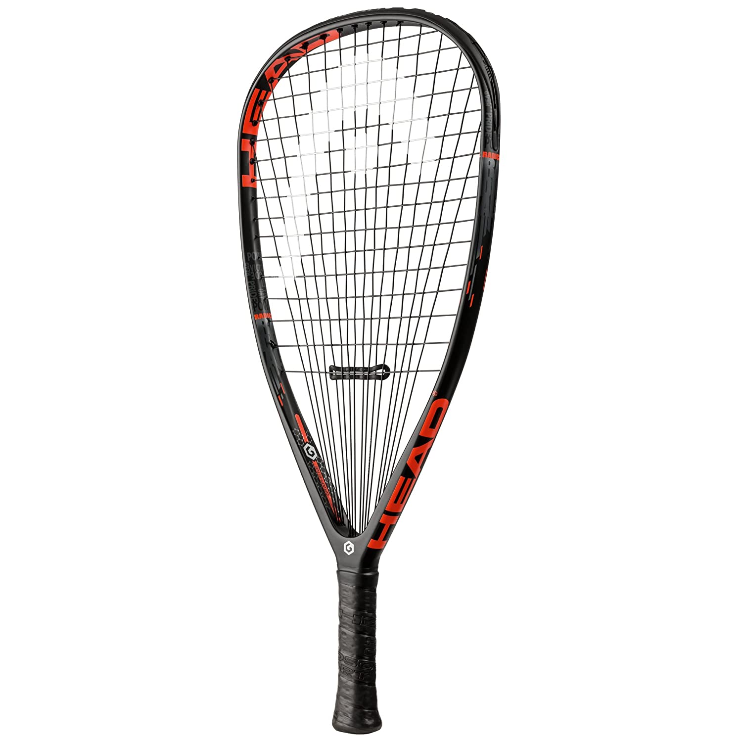 Head Graphene Radical 160/170/180 Racquetball Racquet Series, (3 5/8 and 3 7/8 Grip Available)