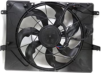 Radiator Cooling Fan Assembly for Genesis Coupe 2.0L