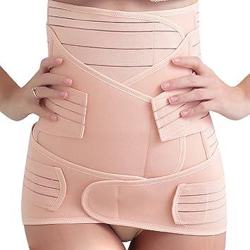 271f7cb88947 FEOYA - Femme Récupération Postpartum Bande de pelvis et abdomen Ceinture  Respirable Forme 3 en 1