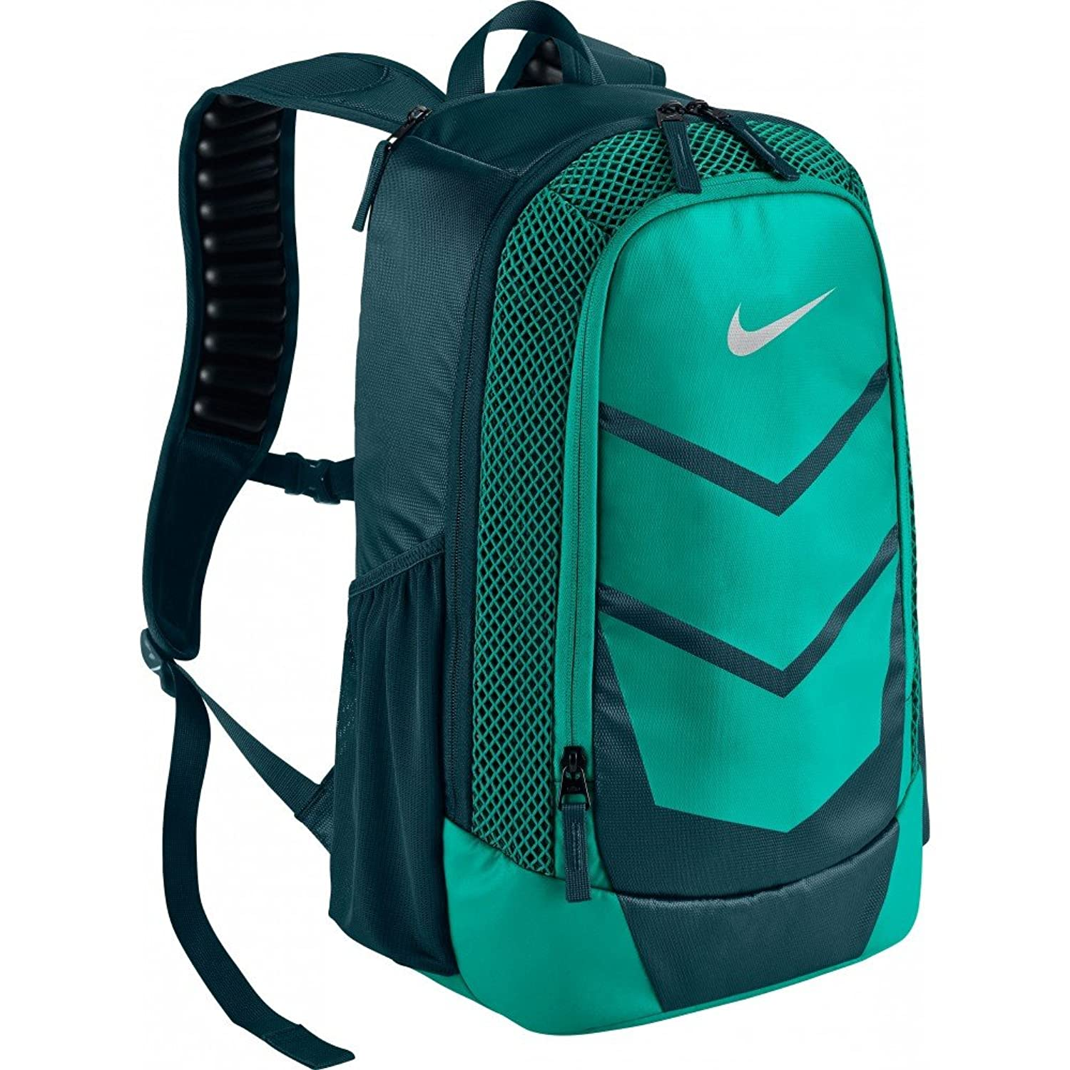 mint green nike backpack