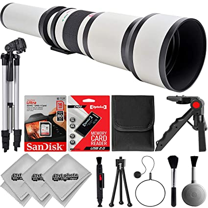 Review Opteka 650-1300mm W f/8