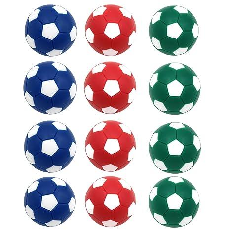 goutoports mesa fútbol Foosballs, 12 Pack pelotas de repuesto, 36 ...