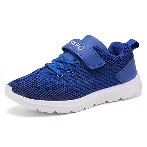 Sportschuhe Mädchen Laufschuhe Turnschuhe Itapo Sneaker Schuhe Hallenschuhe Kinder Jungen Klettverschluss e9IWH2EDY