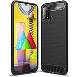 Boleyi Case for Samsung Galaxy M31, [Anti-Slip] [Ultra-Thin] [Durable] TPU Cover Phone Case, for Samsung Galaxy M31 Cover -Black