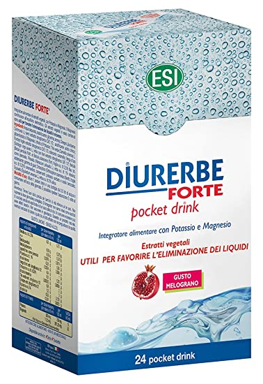 Esi Diurerbe Forte 24 Pocket Drink Taste Pomegranate