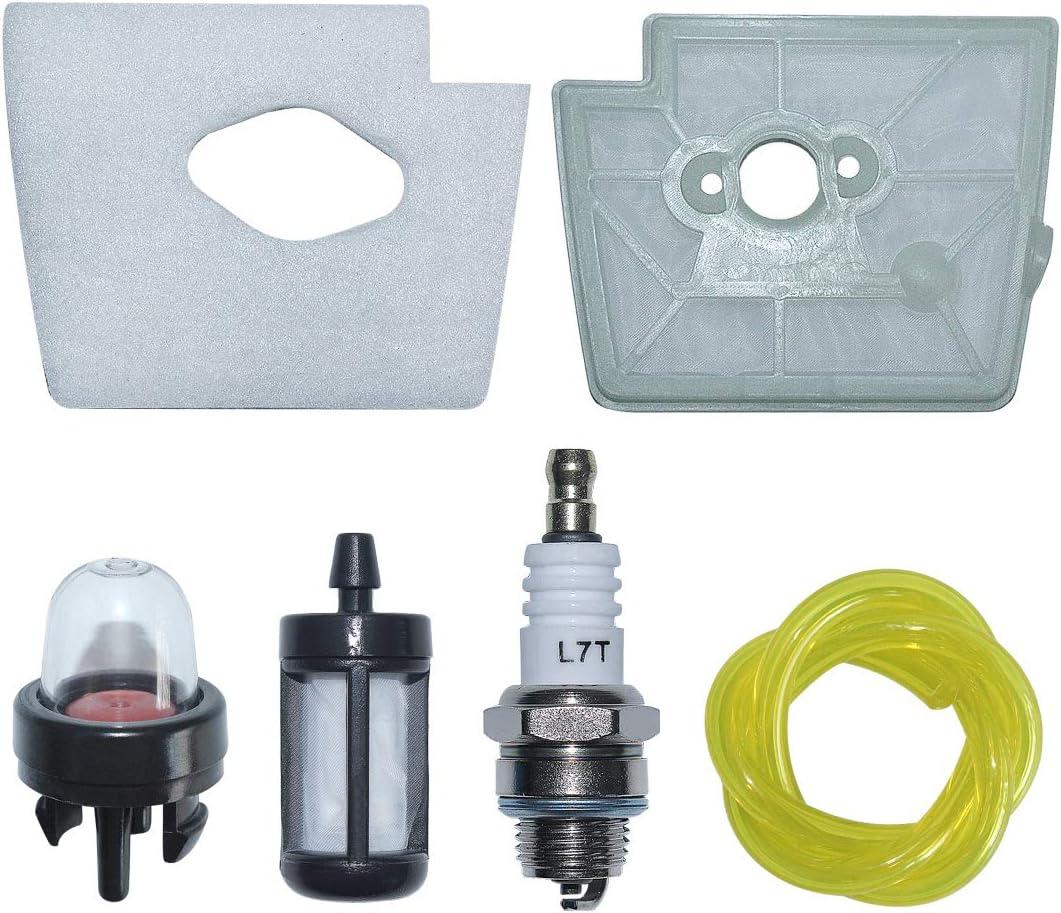 RocwooD /à Essence Filtre du r/éservoir de Carburant pour Stihl Fs160/Fs180/FS200/Fs200r Fs220/Fs220/K Fs250
