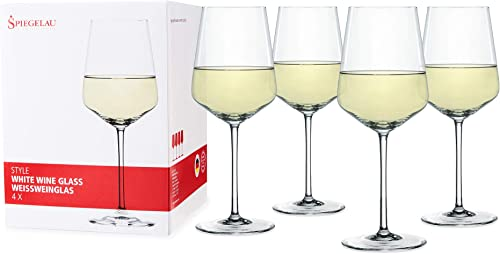 Spiegelau-Style-White-Wine-Glasses,-Set-of-4