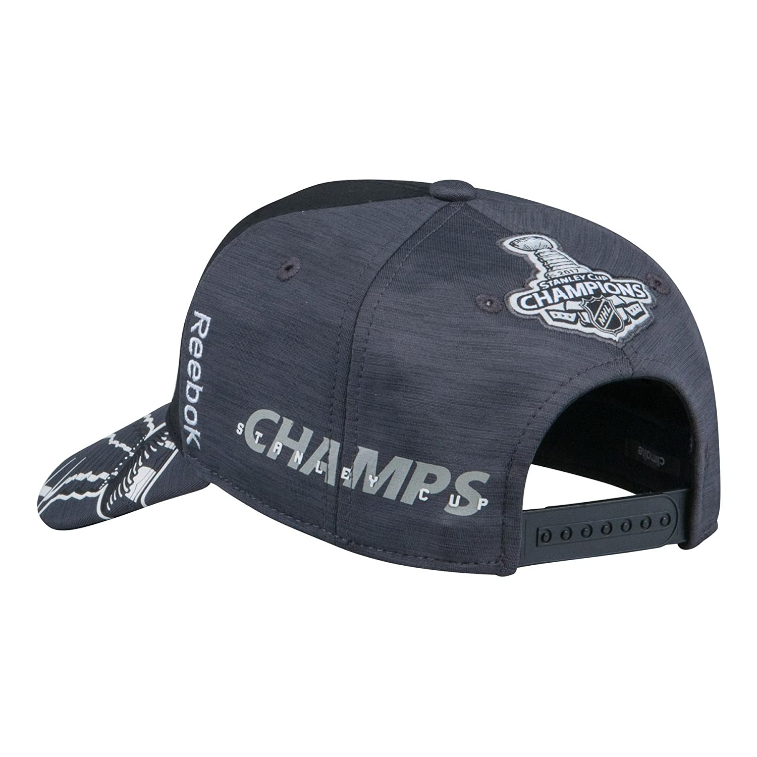 87c6dbdcb Pittsburgh Penguins 2017 Stanley Cup Final Champions Reebok Official Locker  Room Hat   Cap