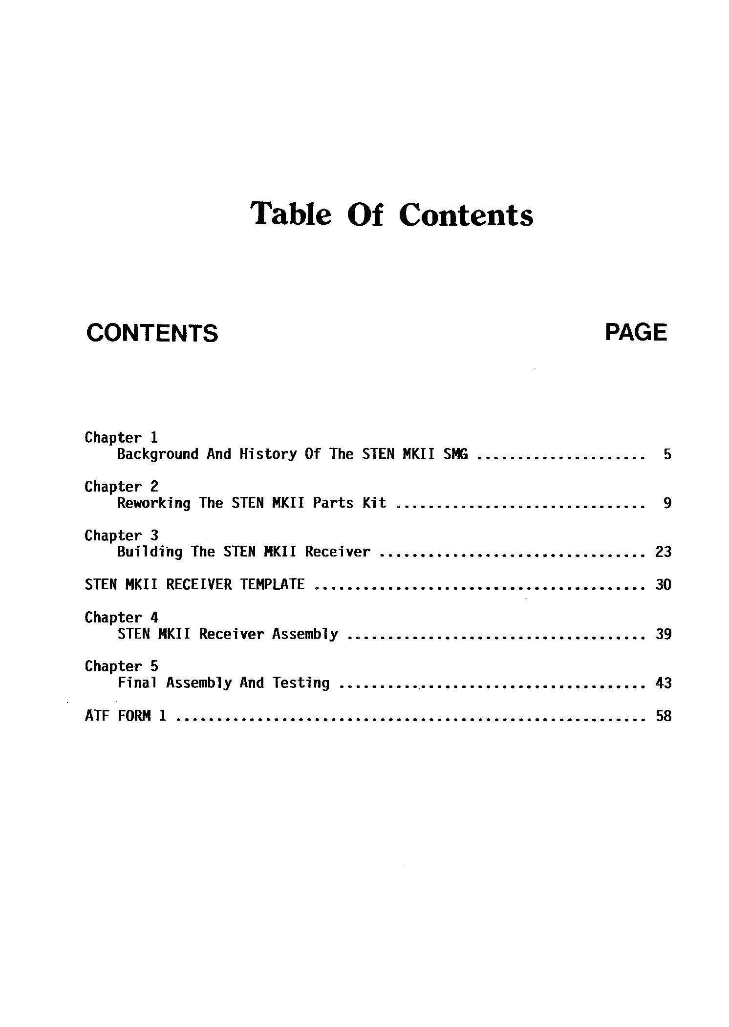 Sten Mk Ii Construction Manual Gary Hill 9780879471972 Amazon