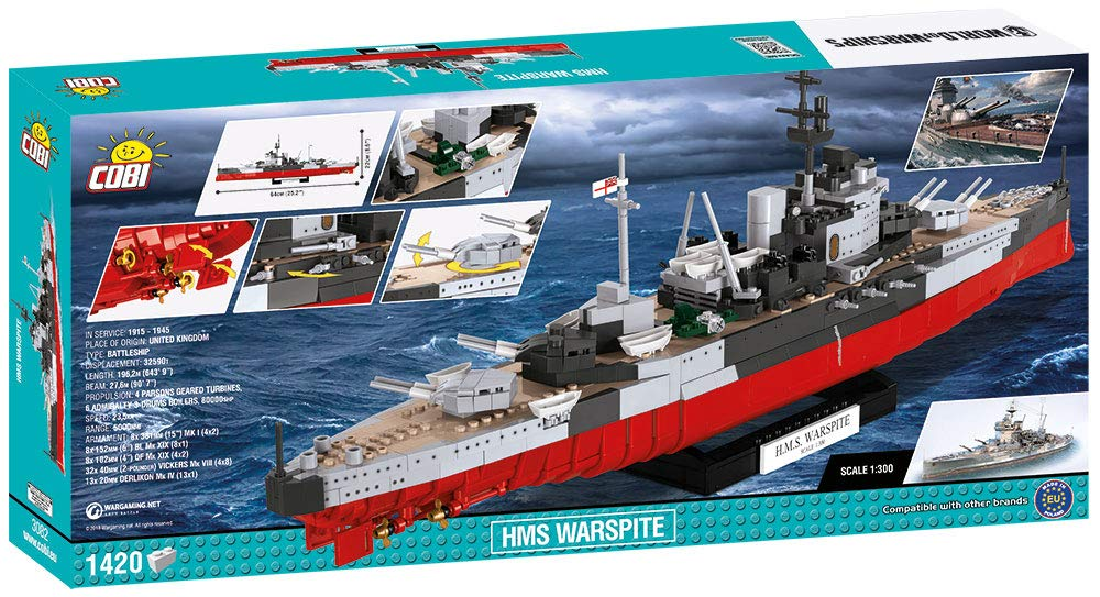 COBI World of Warships HMS Warsprite by COBI (Image #1)