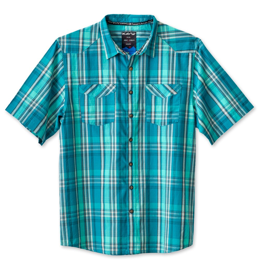 KAVU Mens Dundee Button Down Shirts