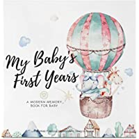 Baby First 5 Years Memory Book Journal - 90 Pages Hardcover First Year Keepsake Milestone Newborn Journal for Boys, Girls - All Family, LGBT, Single Mom Dad, Adoptive (Adventureland)