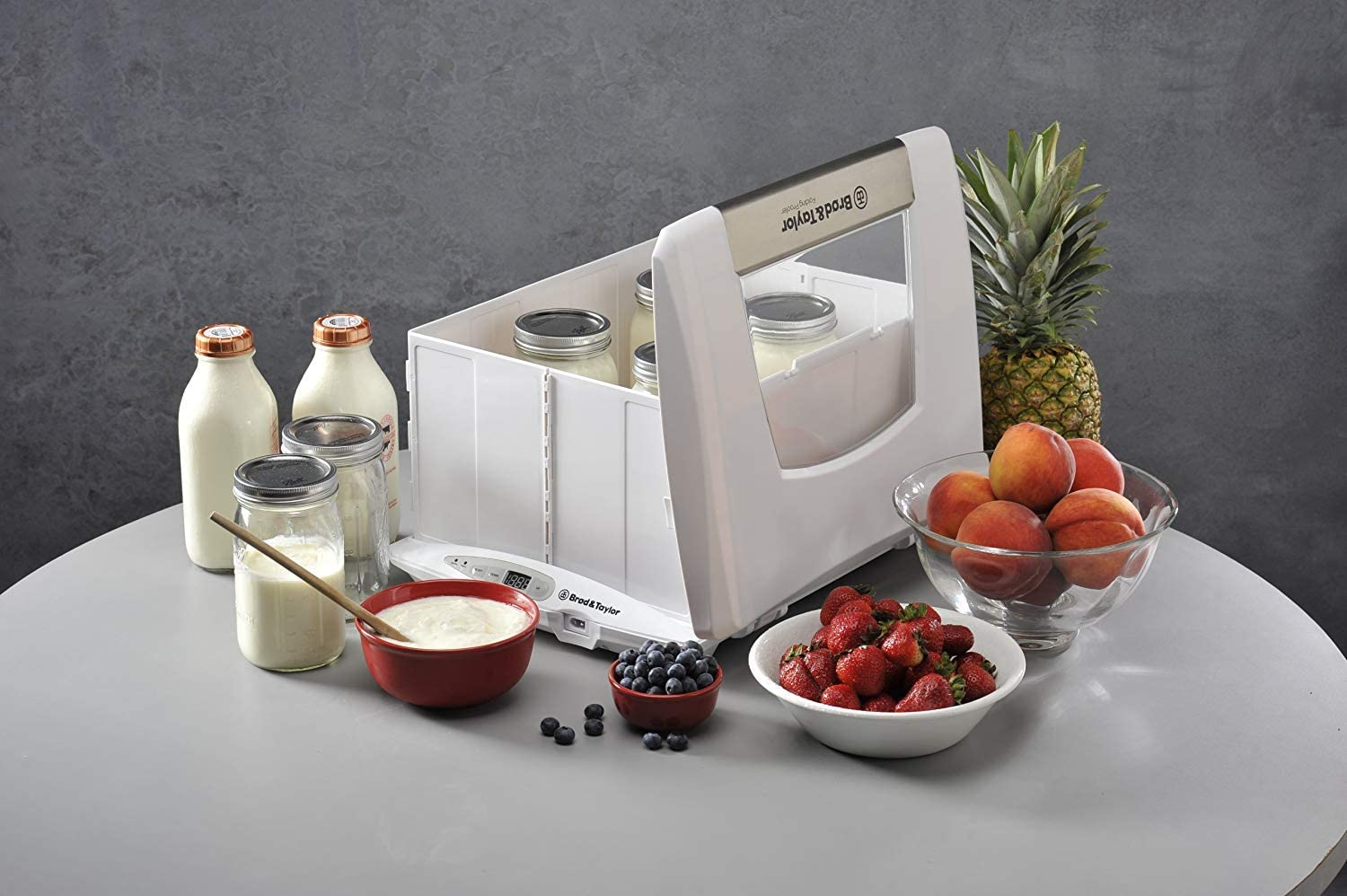 Amazon.com: Proofer de pan plegable y fabricante de yogurt ...