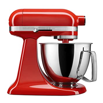 KitchenAid KSM3316XHT Artisan Mini Stand Mixers, 3.5 quart, Hot Sauce