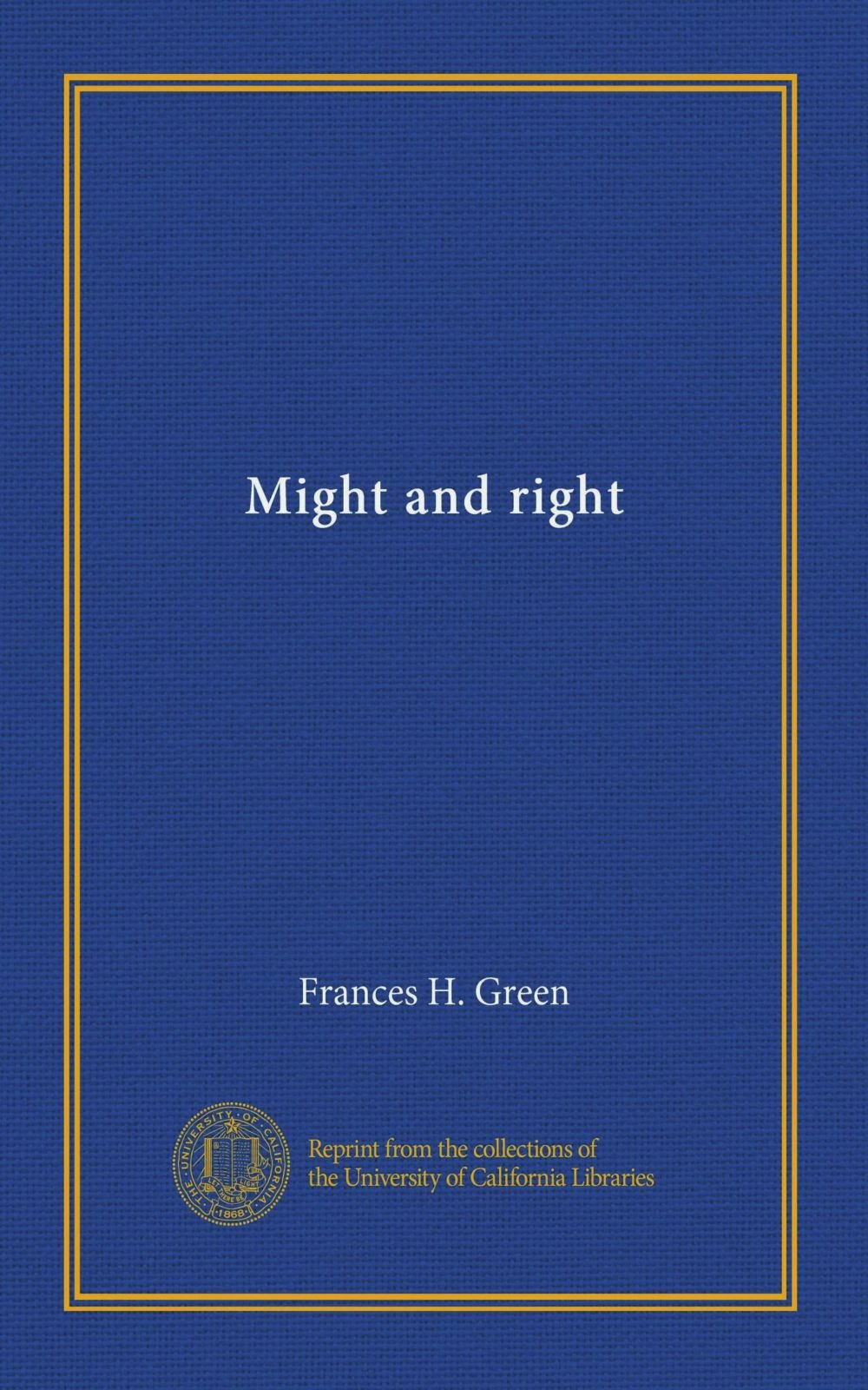 Might and right pdf epub