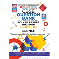 Oswaal CBSE Question Bank Class 10 Science Book Chapterwise & Topicwise Includes Objective Types & MCQ's (For March 2020 Exam)