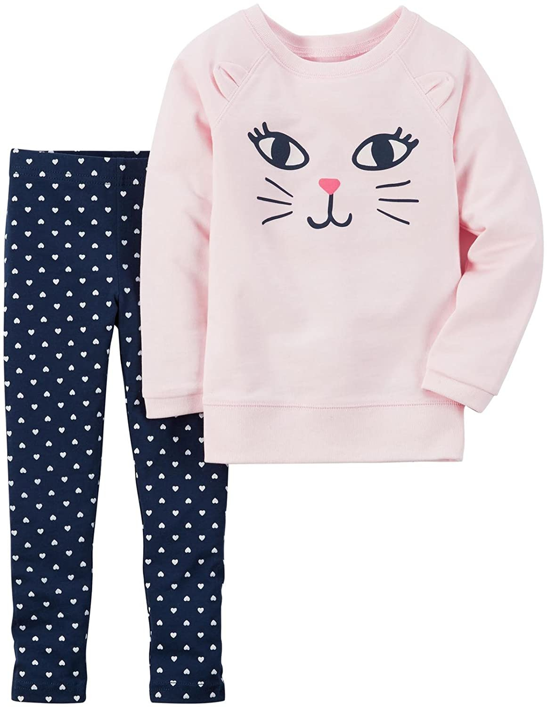 Carters Girls 2 Pc Playwear Sets 259g215