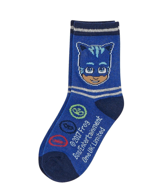 PJ Masks Chicos Calcetines (lote de 3) - Azul - 31-34: Amazon.es: Ropa y accesorios