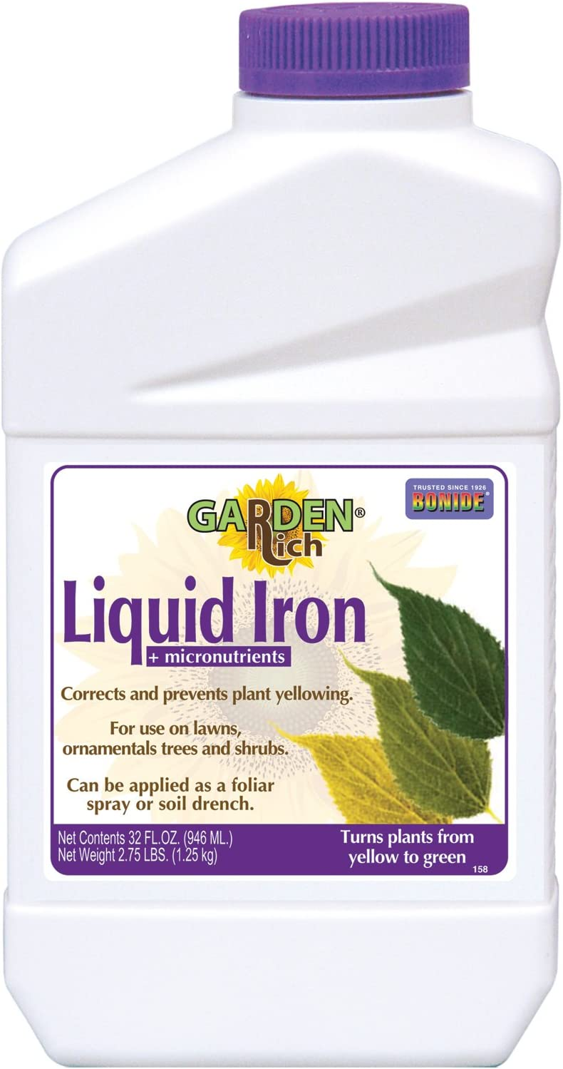 Bonide 299 liquid iron concentrate 32 ounce bottle