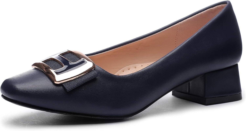 Amazon.com   CINAK Women Pumps Low Heel