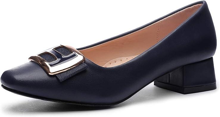 Amazon.com | CINAK Women Pumps Low Heel