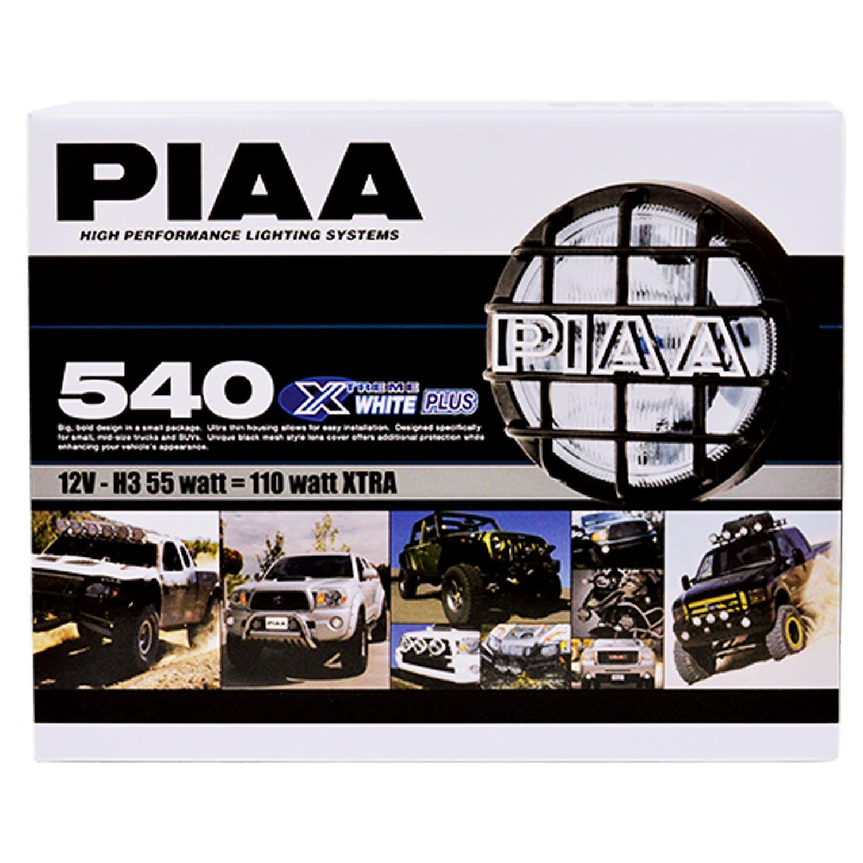 Piaa 5462 540 Series Xtreme White Black Driving Lamp Wiring Diagram Set Of 2 Automotive