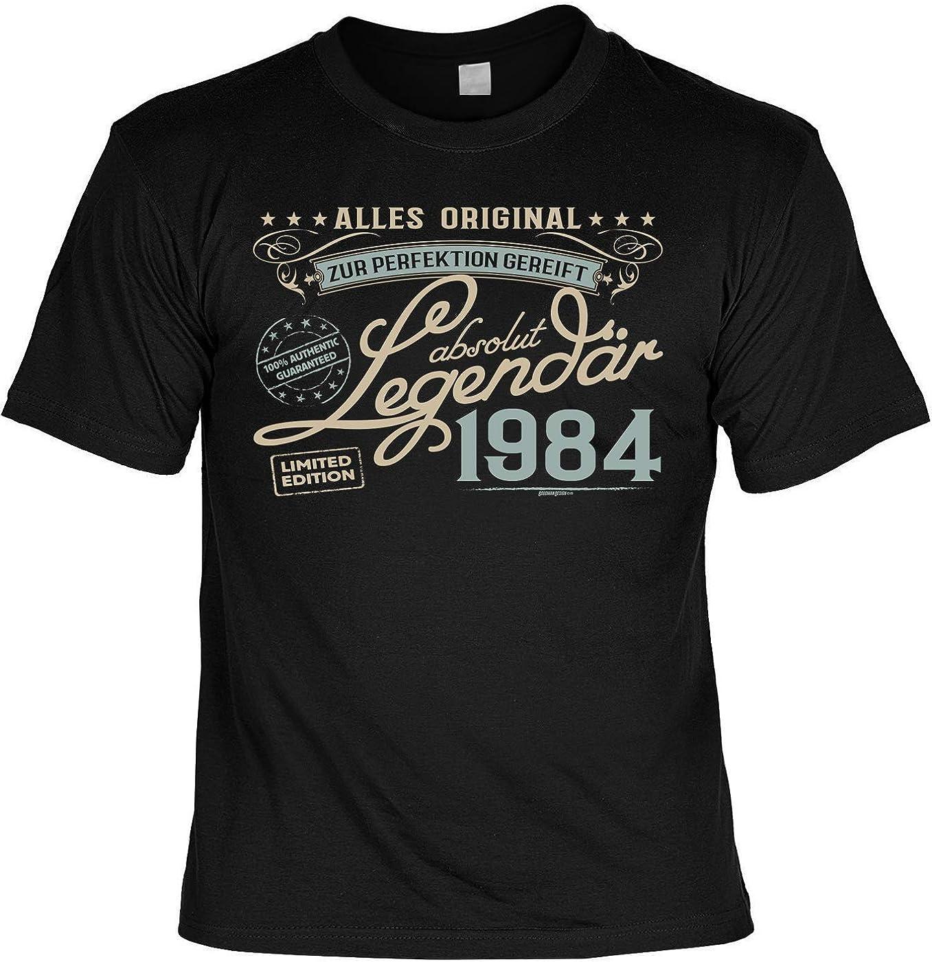 T-Shirt 35. Geburtstag Mann Shirt 35 Jahre Leiberl