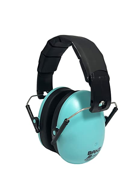 THE BEST EARMUFFS FOR KIDS Turquoise Kids Ear Protection Baby Banz Earmuffs Kids Hearing Protection Ages 2+ Years Soft /& Comfortable Industry Leading Noise Reduction Rating