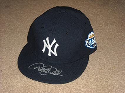 Image Unavailable. Image not available for. Color  Derek Jeter 2012 Signed  All Star Game Hat Cap New York Yankees ... 40e70c19884