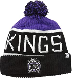 198fd5dbb24 Amazon.com   New Era Sacramento Kings NE17 Cold Weather Sport Knit ...