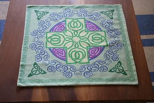 Altar Cloth or Tarot Cloth – Celtic Cross, Re-imaged