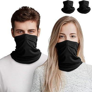 Loop Scarf Mens Womens Tube Scarf Neck Scarf Face mask Balaclava Bandana Multifunctional snood for Cycling Running Climbing Hiking