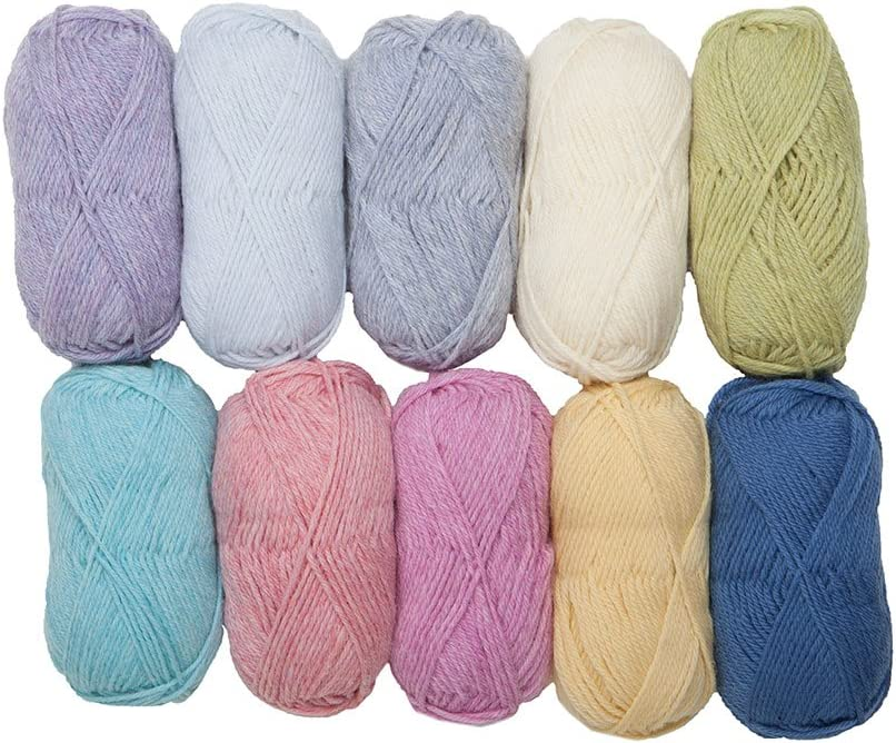 1 Ball - Buttercup Knit Picks Wool of The Andes Worsted Weight Yarn