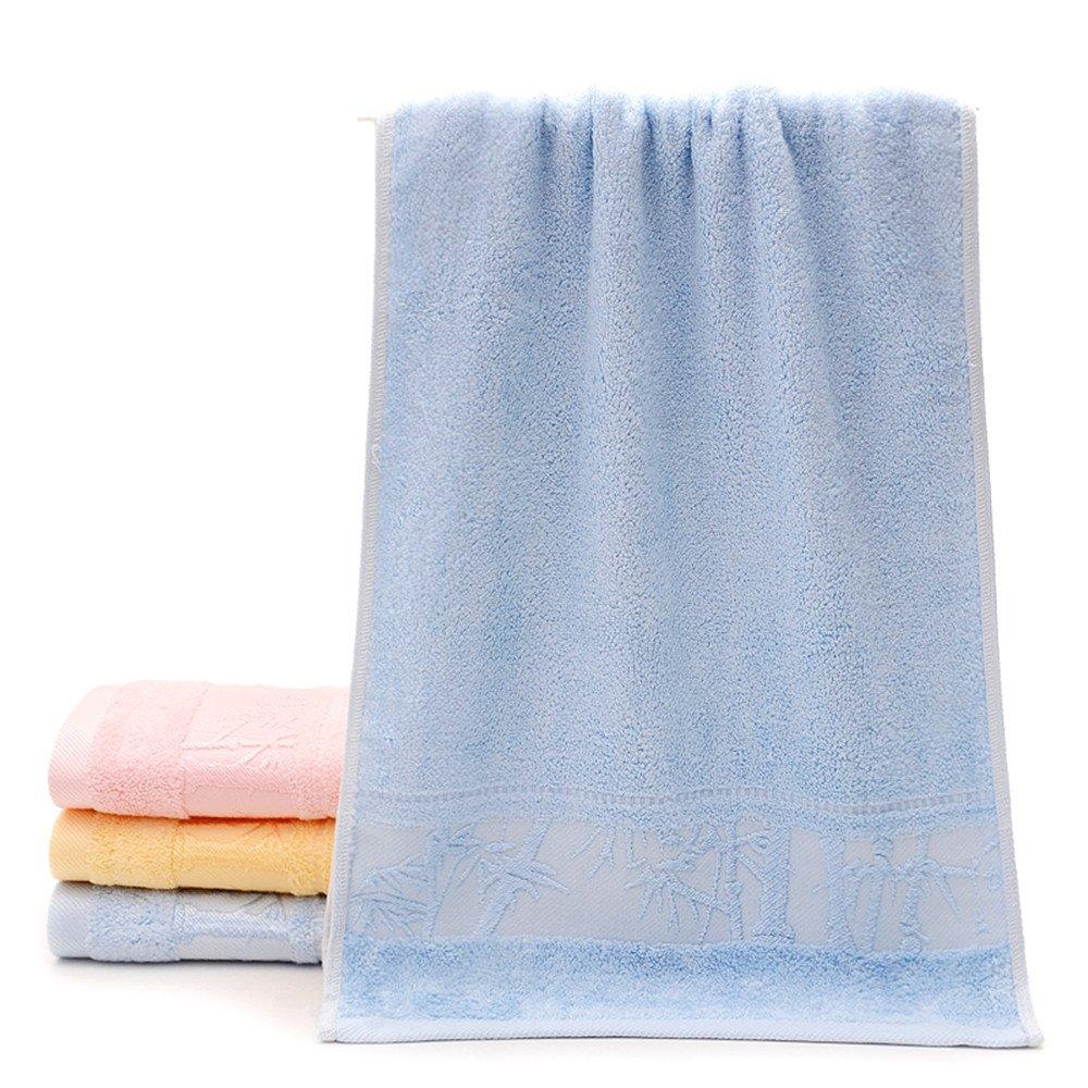 Zoomlie - Juego de Toallas de Baño para Baño (3 Unidades, 100% Algodón, Secado Rápido, Calidad de Hotel y SPA), Color Azul: Amazon.es: Hogar