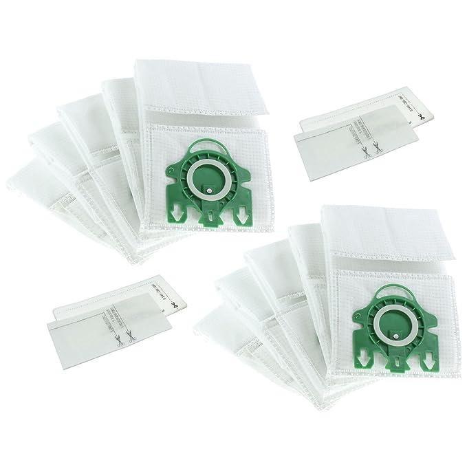 Invero - Recambio Microfibra 10 x al vacío bolsas de polvo para ...