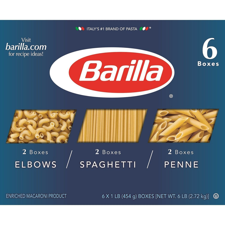 Barilla Pasta Variety Pack (6 pk.)
