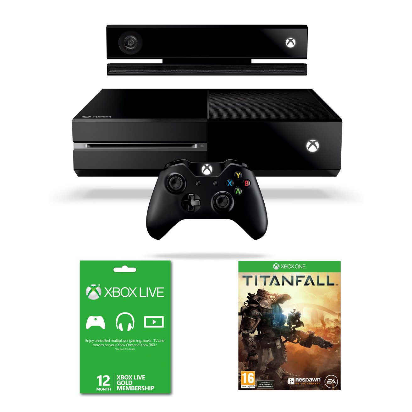 And remember xbox live gold is more than just great deals on games - Xbox One Console With Kinect Titanfall And Xbox Live Gold 12 Month Membership Amazon Co Uk Pc Video Games