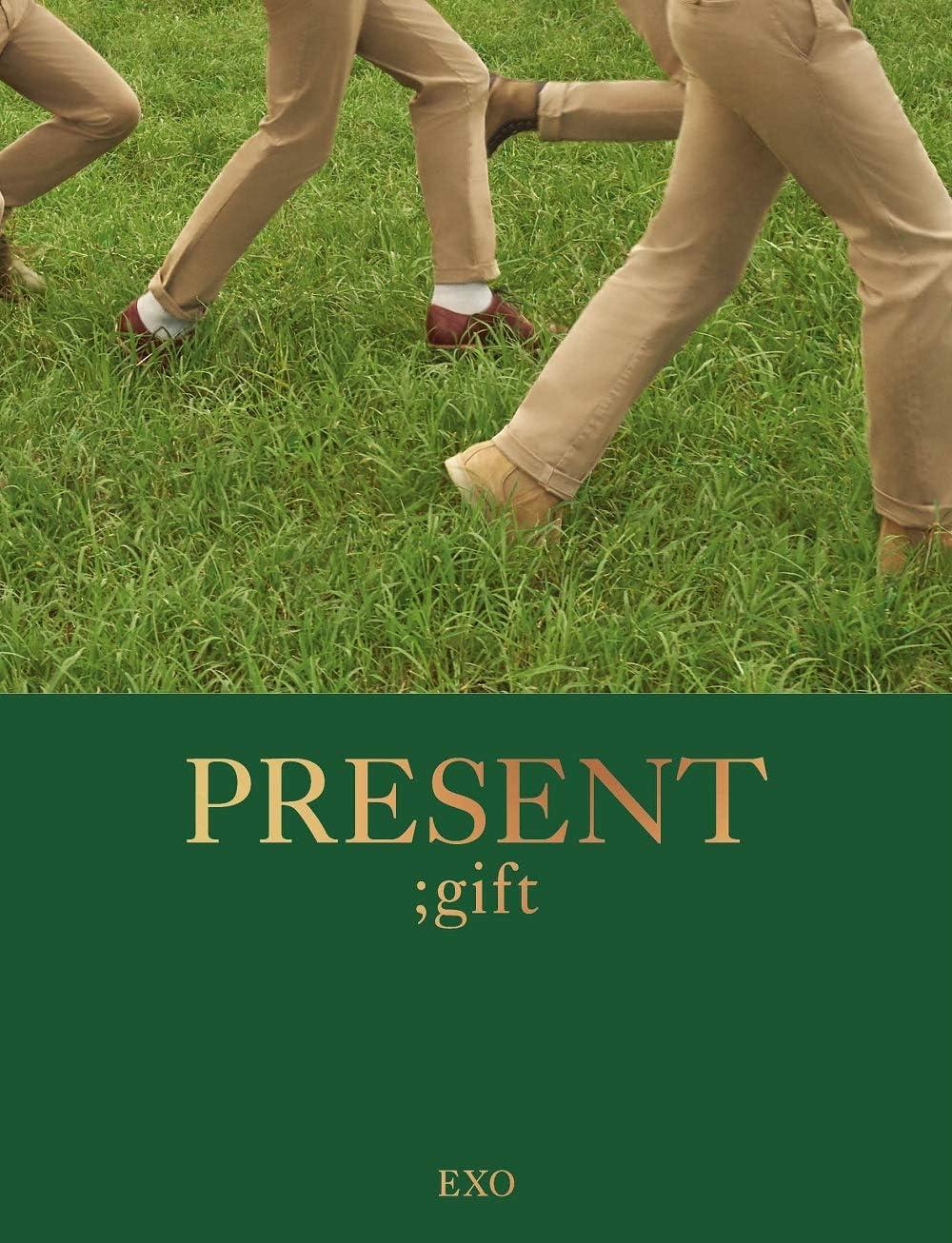 Present ; Gift 204p Photobook+Postcard+Double Side Extra Photocards Set SM Entertainment EXO