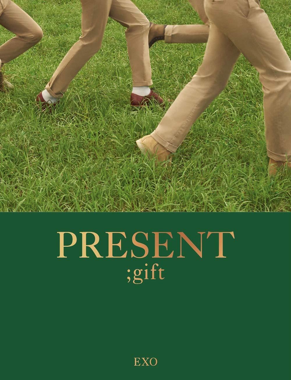 SM Entertainment EXO - Present ; Gift 204p Photobook+Postcard+Double Side Extra Photocards Set