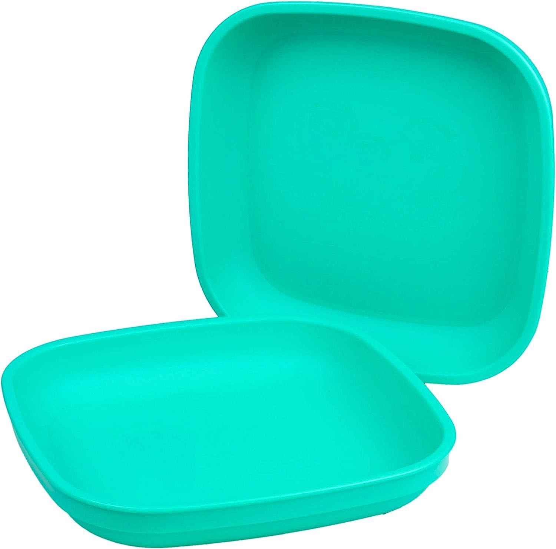 Re-Play - Juego de platos infantiles (3 unidades, sin BPA, duraderos gracias al material reciclado)