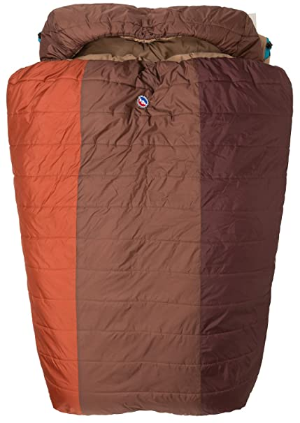 Big Agnes Dream Island 15 Double Wide – Saco de Dormir, Color Spice/Cappuccino