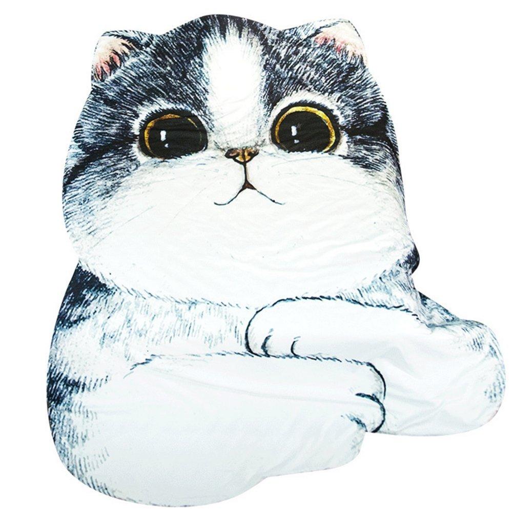 3D Animal Prints Blanket Bedding Cat Shaped Summer Quilt Comforter Washable Light Quilt