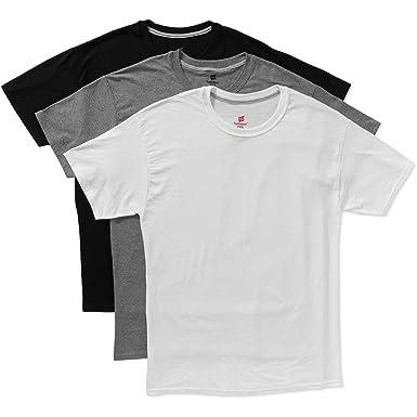 Hanes Mens FreshIQ X Temp 3 Pack Dyed Crewneck T Shirts At Amazon