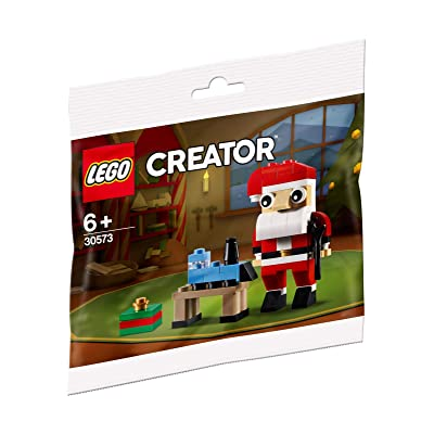 LEGO Creator 30573 Santa Build, New 2020 (67 Pcs): Toys & Games