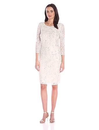 f6b2fab02f8 Pisarro Nights Women s Short Beaded Dress at Amazon Women s Clothing ...