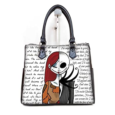 Amazon.com: Moda Mujer Tipo Barril Bolsos Bolsa Jack y Sally ...