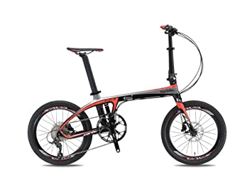 Bicicleta plegable carbono