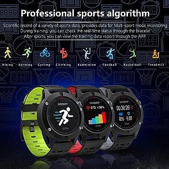 Smart Watch F5 GPS, Rastreador de Ejercicios a Prueba de ...