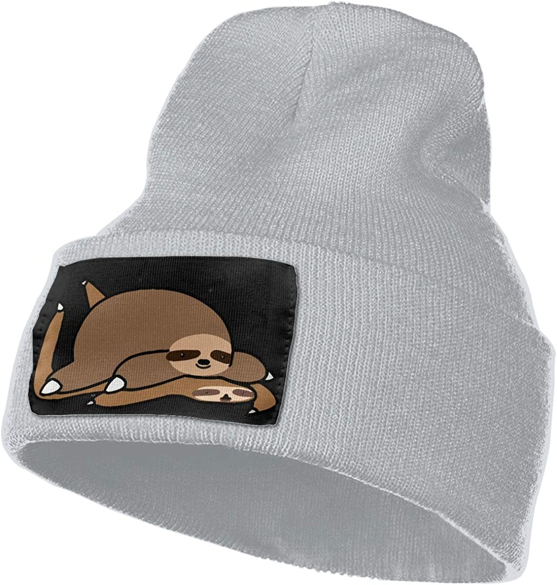 Fat Sloth Men /& Women Knitting Hats Stretchy /& Soft Ski Cap Beanie